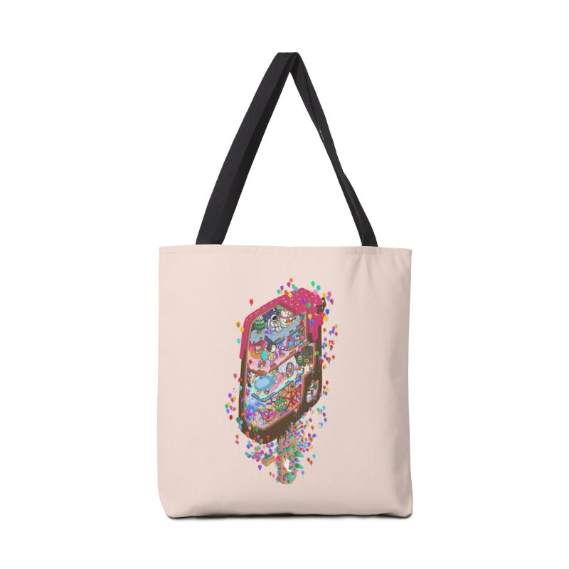 in ice cream Accessories Bag by makapa's Artist Shop