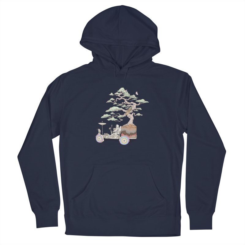 chill on the road Men's Pullover Hoody by makapa's Artist Shop