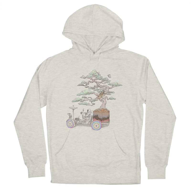 chill on the road Women's French Terry Pullover Hoody by makapa's Artist Shop