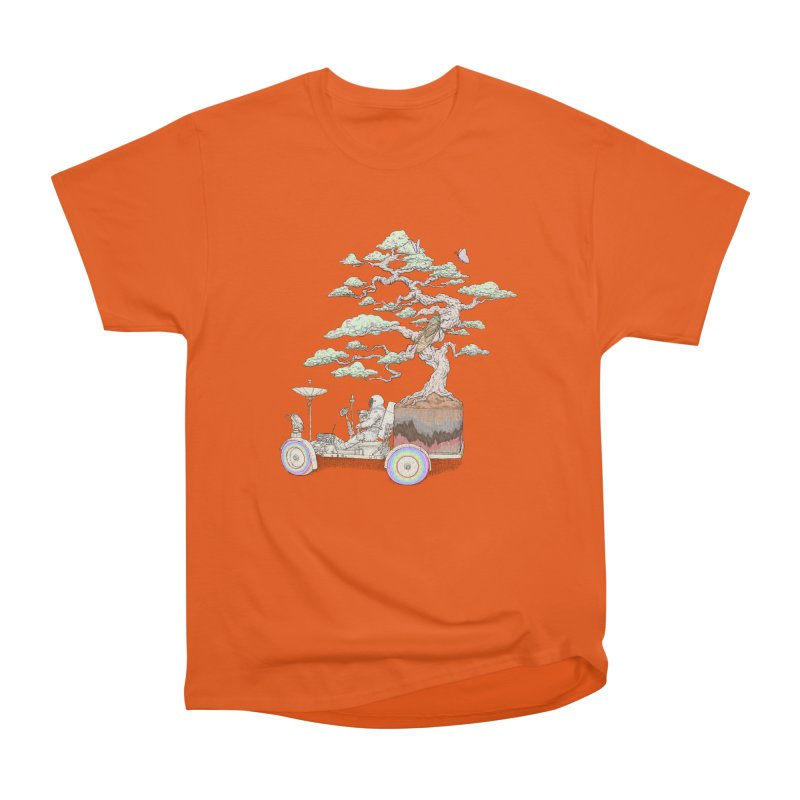 chill on the road Men's Heavyweight T-Shirt by makapa's Artist Shop