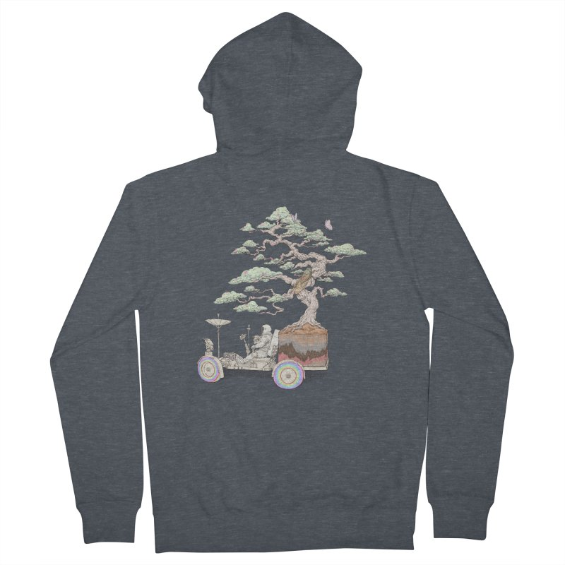 chill on the road Men's Zip-Up Hoody by makapa's Artist Shop