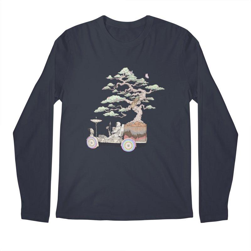 chill on the road Men's Regular Longsleeve T-Shirt by makapa's Artist Shop