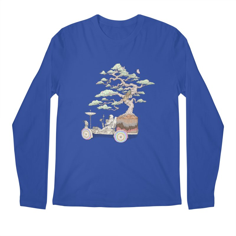 chill on the road Men's Regular Longsleeve T-Shirt by makapa's Artist Shop