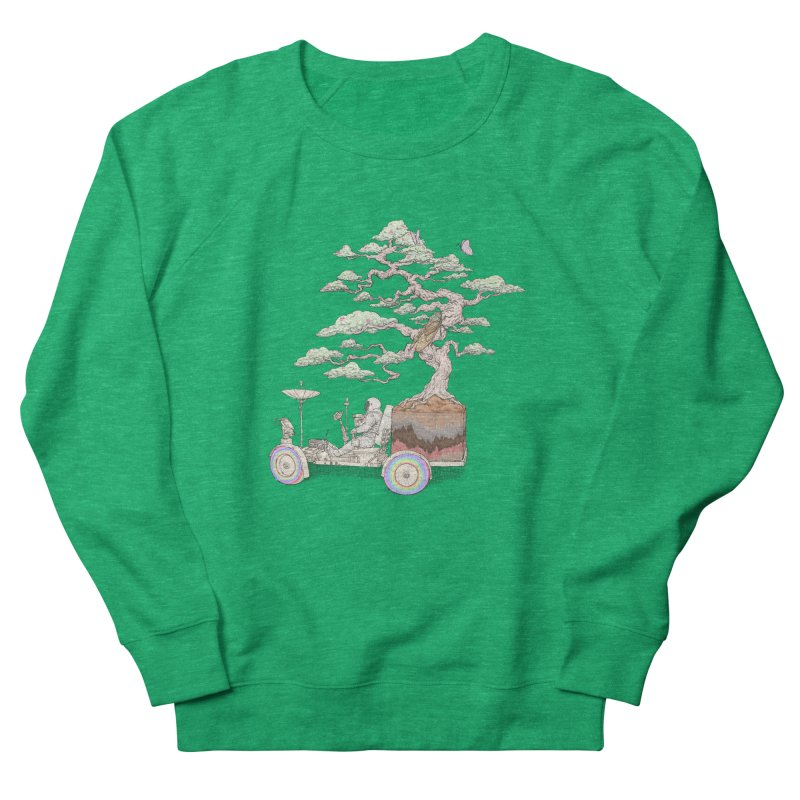 chill on the road Women's French Terry Sweatshirt by makapa's Artist Shop