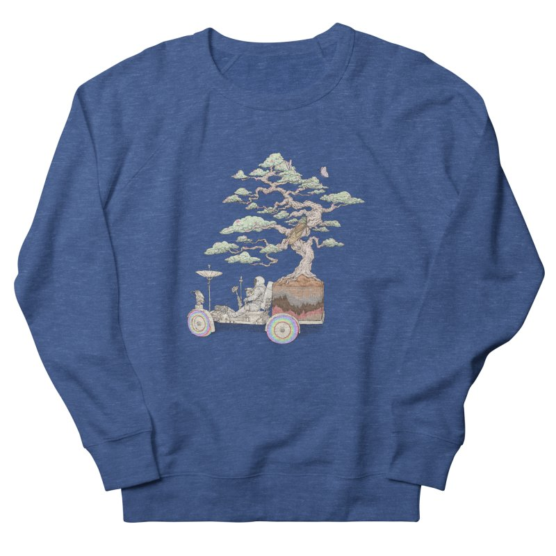 chill on the road Men's French Terry Sweatshirt by makapa's Artist Shop
