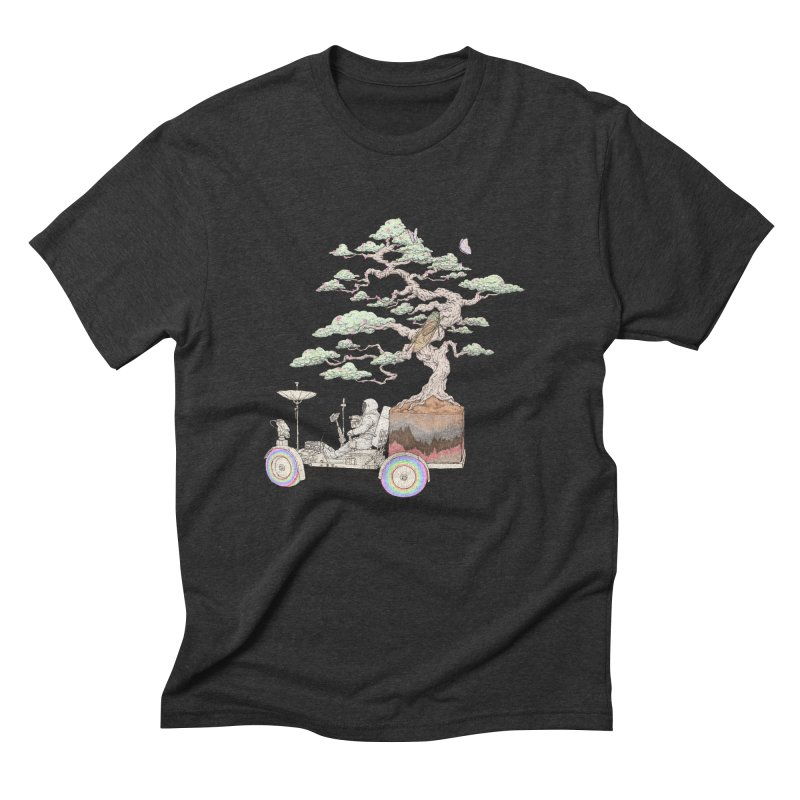 chill on the road Men's Triblend T-Shirt by makapa's Artist Shop