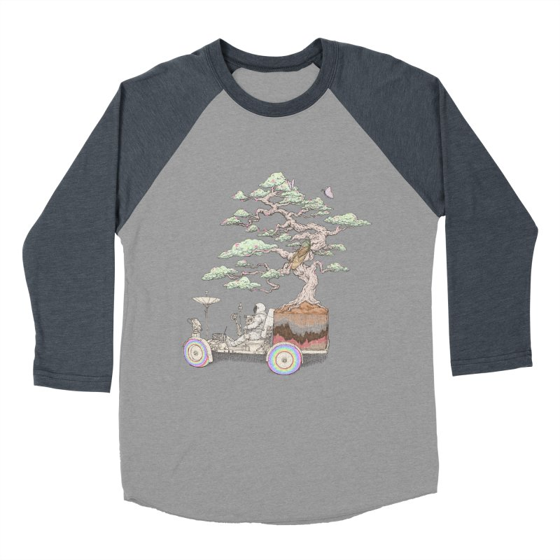 chill on the road Women's Baseball Triblend Longsleeve T-Shirt by makapa's Artist Shop