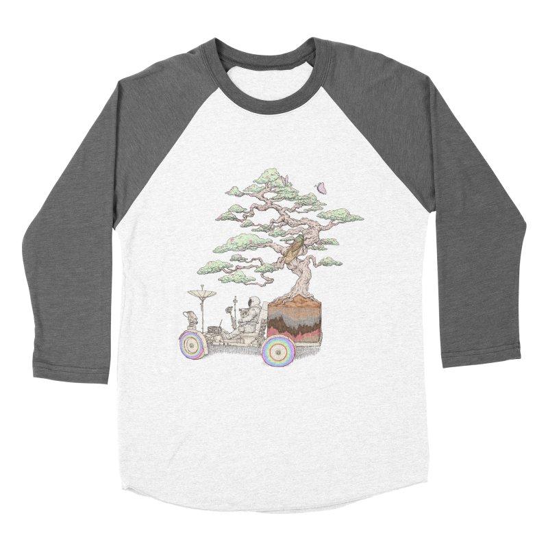 chill on the road Men's Baseball Triblend Longsleeve T-Shirt by makapa's Artist Shop