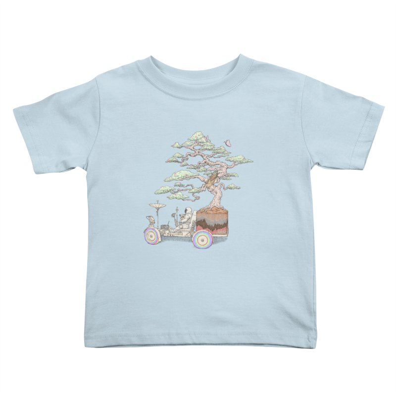 chill on the road Kids Toddler T-Shirt by makapa's Artist Shop