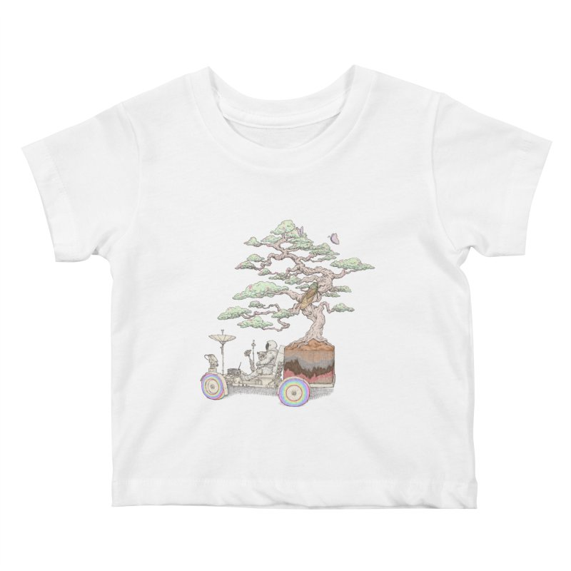 chill on the road Kids Baby T-Shirt by makapa's Artist Shop