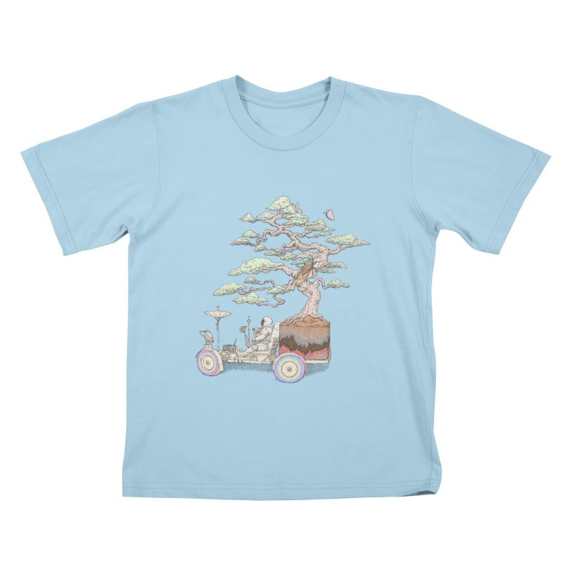 chill on the road Kids T-Shirt by makapa's Artist Shop