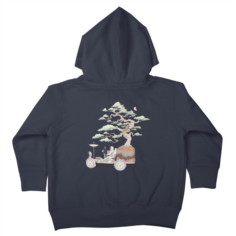 chill on the road Kids Toddler Zip-Up Hoody by makapa's Artist Shop