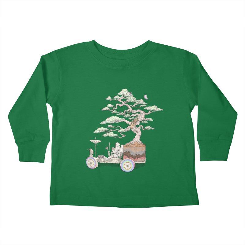 chill on the road Kids Toddler Longsleeve T-Shirt by makapa's Artist Shop