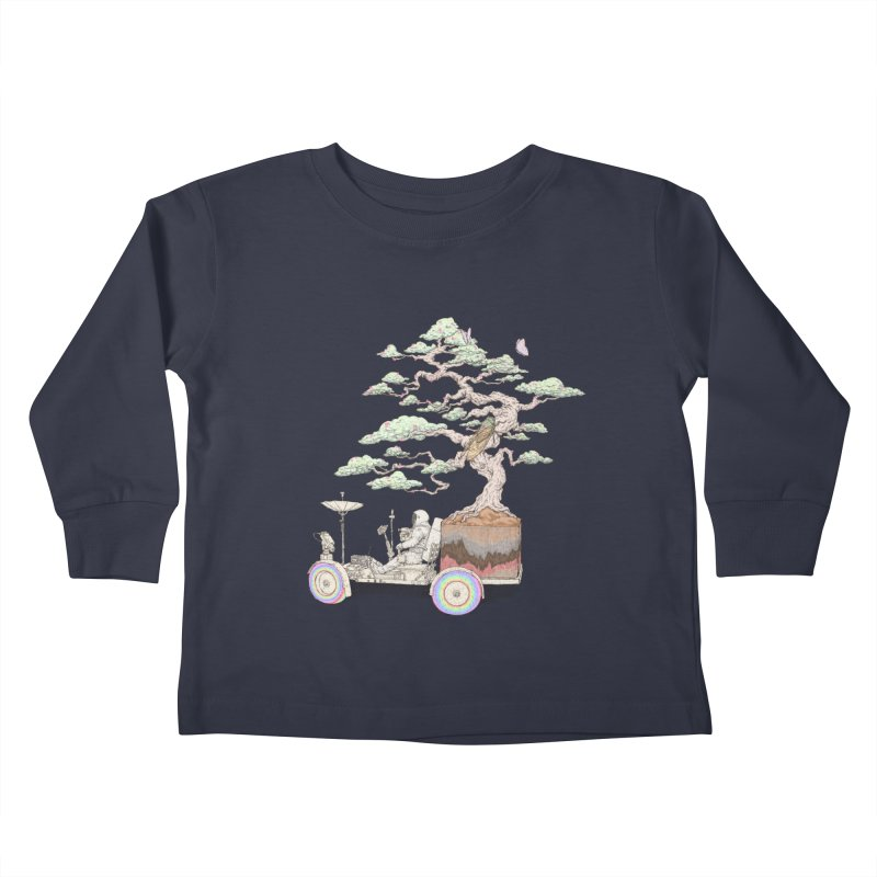 chill on the road Kids Toddler Longsleeve T-Shirt by makapa's Artist Shop