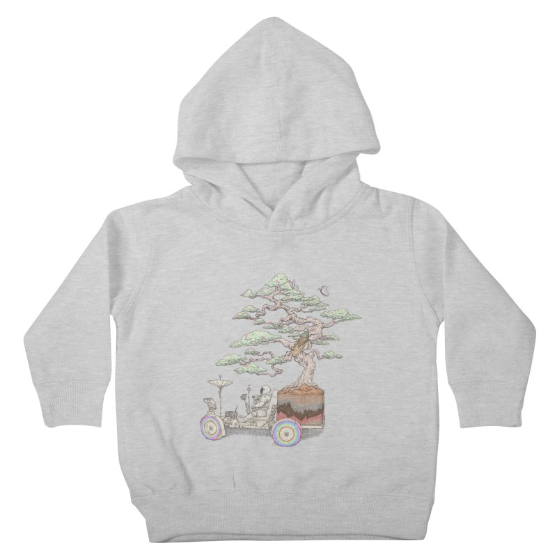 chill on the road Kids Toddler Pullover Hoody by makapa's Artist Shop