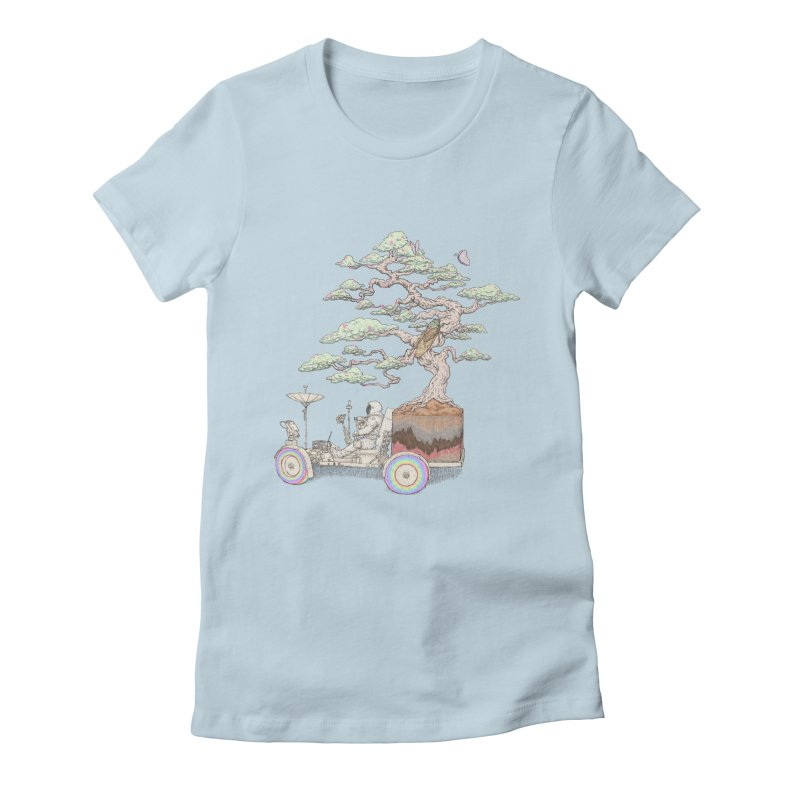 chill on the road Women's T-Shirt by makapa's Artist Shop