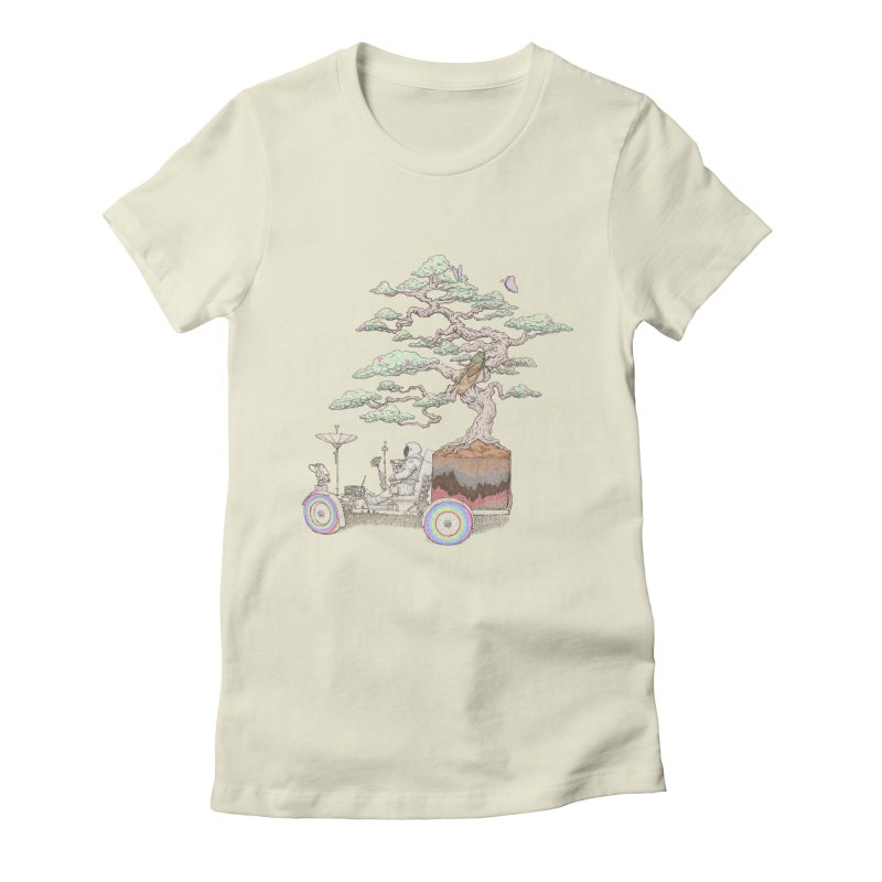 chill on the road Women's Fitted T-Shirt by makapa's Artist Shop