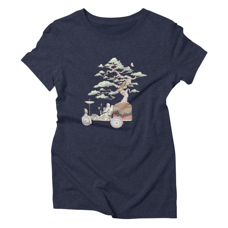 chill on the road Women's Triblend T-Shirt by makapa's Artist Shop