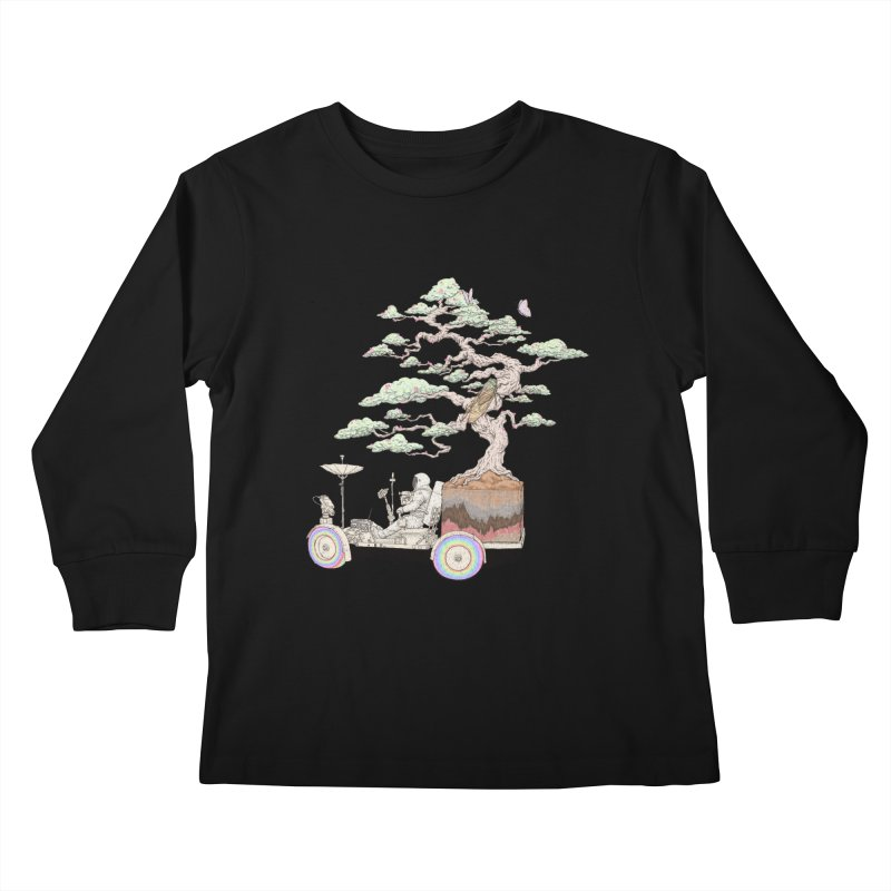 chill on the road Kids Longsleeve T-Shirt by makapa's Artist Shop