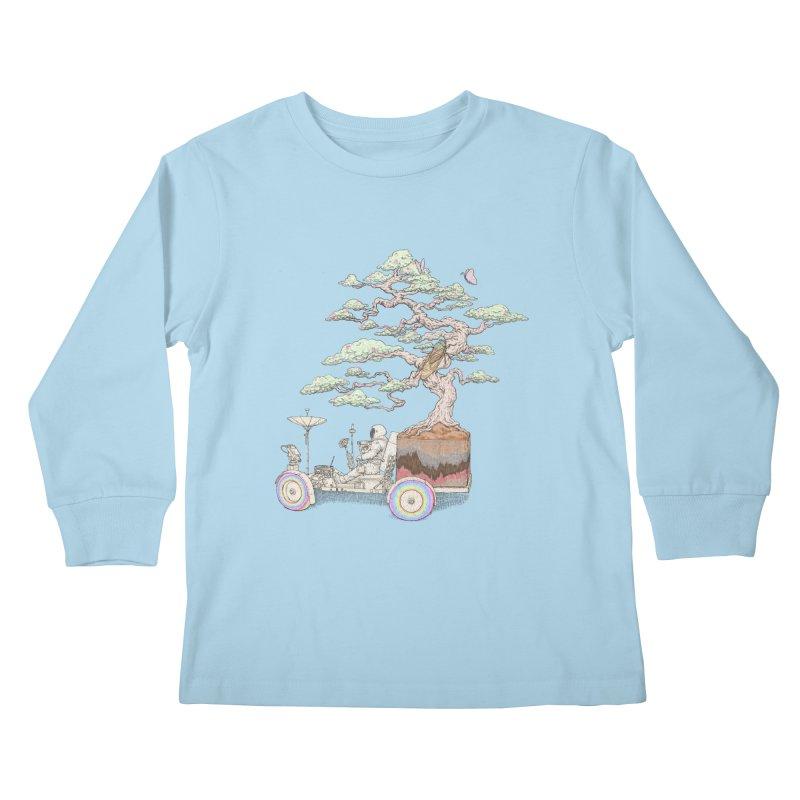 chill on the road Kids Longsleeve T-Shirt by makapa's Artist Shop