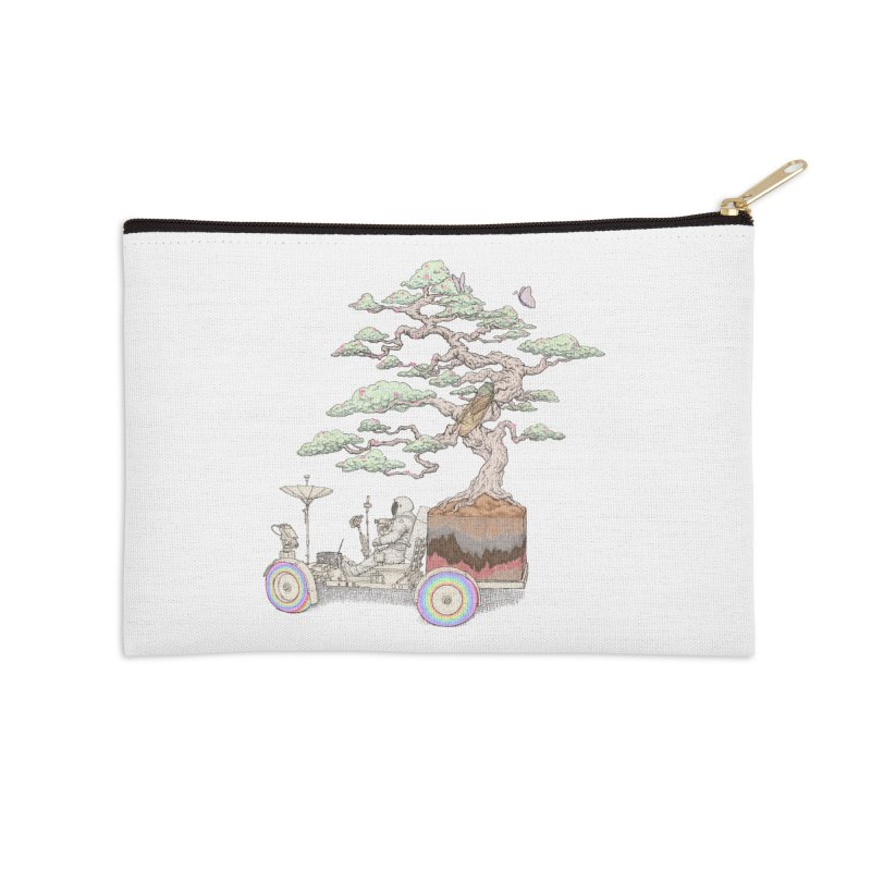chill on the road Accessories Zip Pouch by makapa's Artist Shop