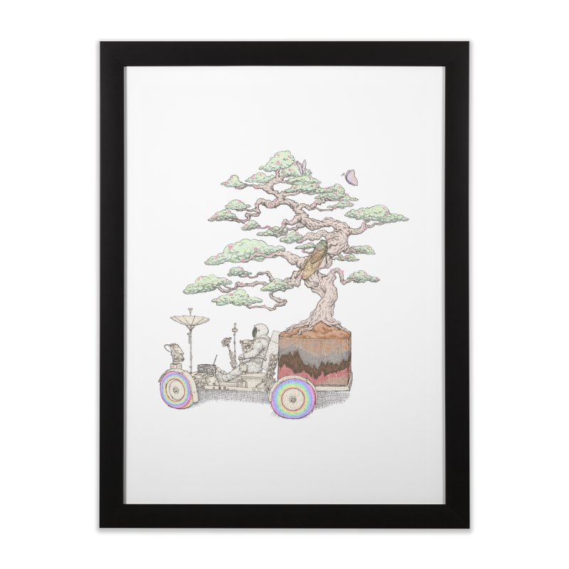 chill on the road Home Framed Fine Art Print by makapa's Artist Shop
