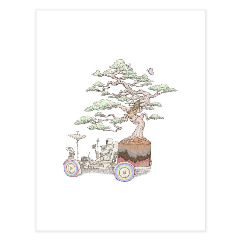 chill on the road Home Fine Art Print by makapa's Artist Shop