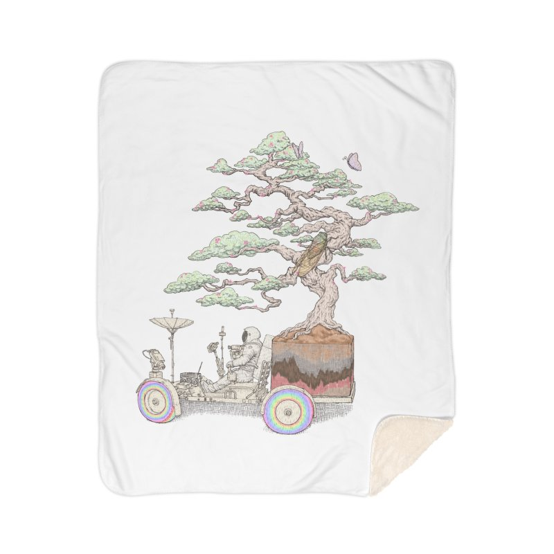 chill on the road Home Sherpa Blanket Blanket by makapa's Artist Shop