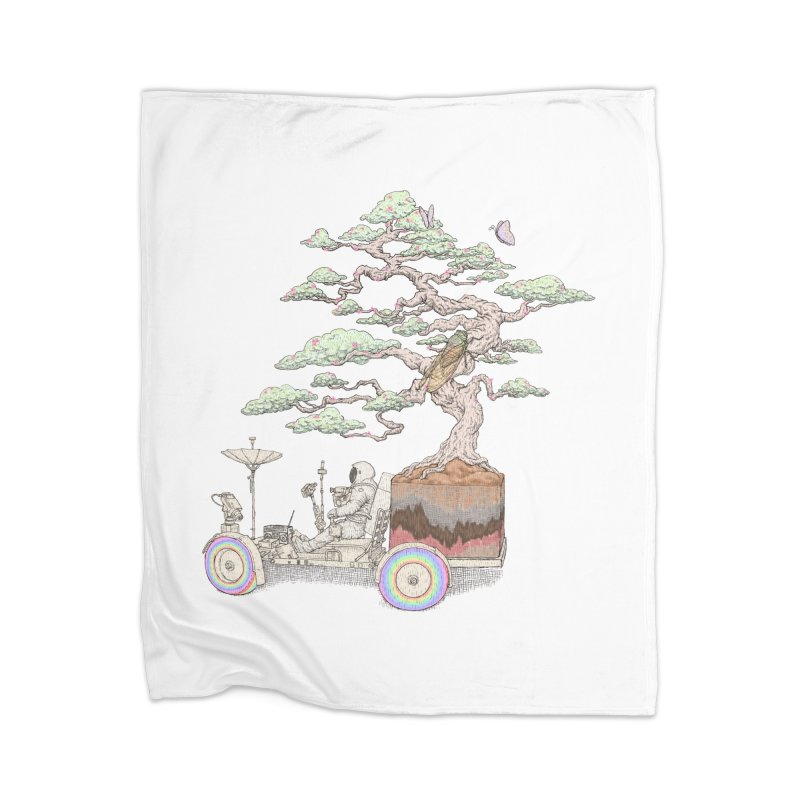 chill on the road Home Blanket by makapa's Artist Shop