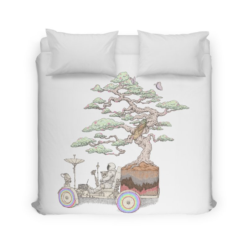 chill on the road Home Duvet by makapa's Artist Shop