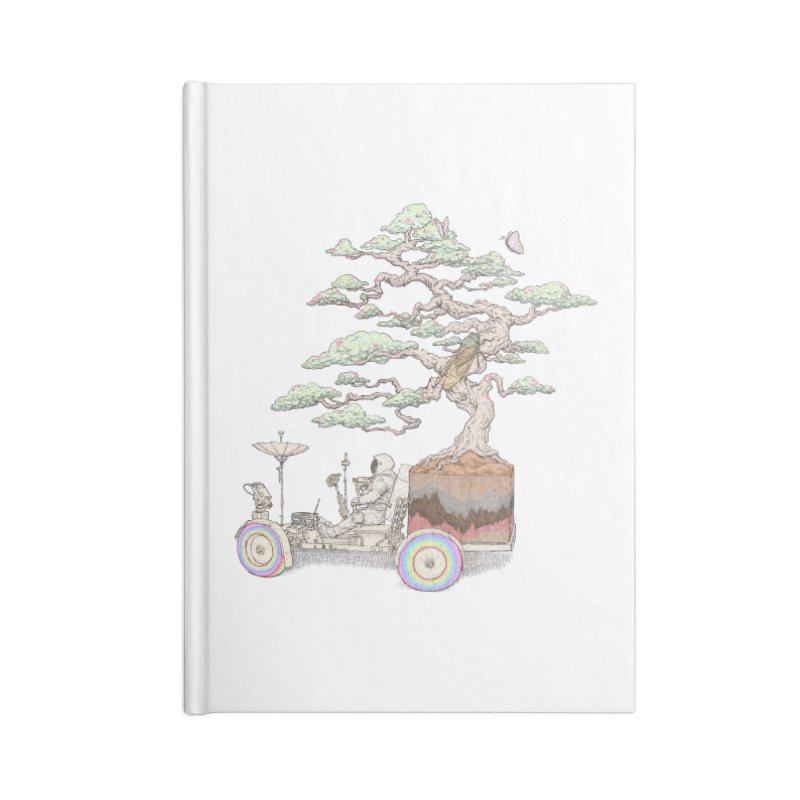 chill on the road Accessories Lined Journal Notebook by makapa's Artist Shop
