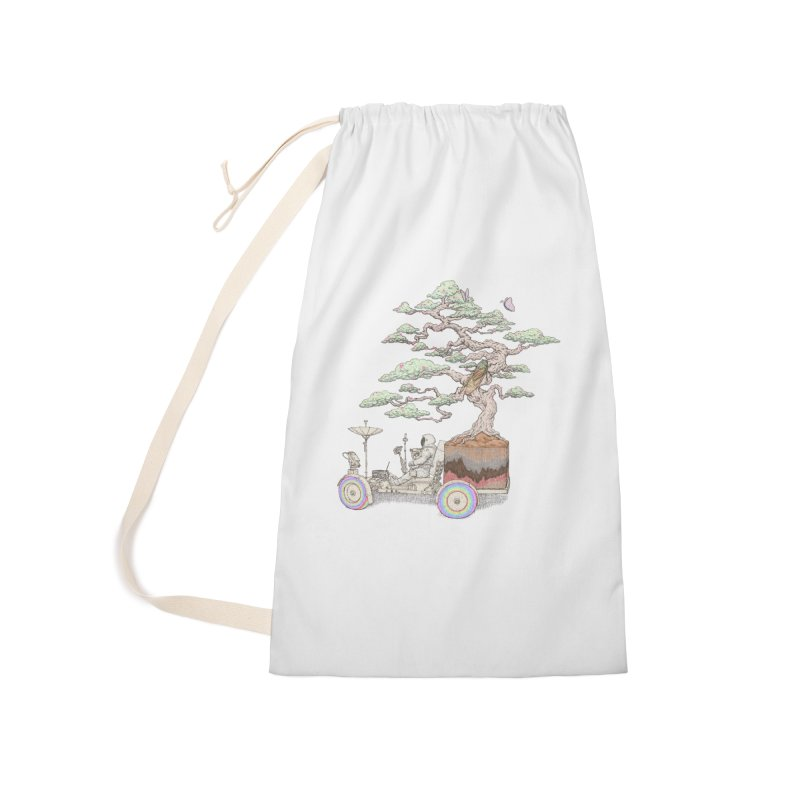 chill on the road Accessories Laundry Bag Bag by makapa's Artist Shop