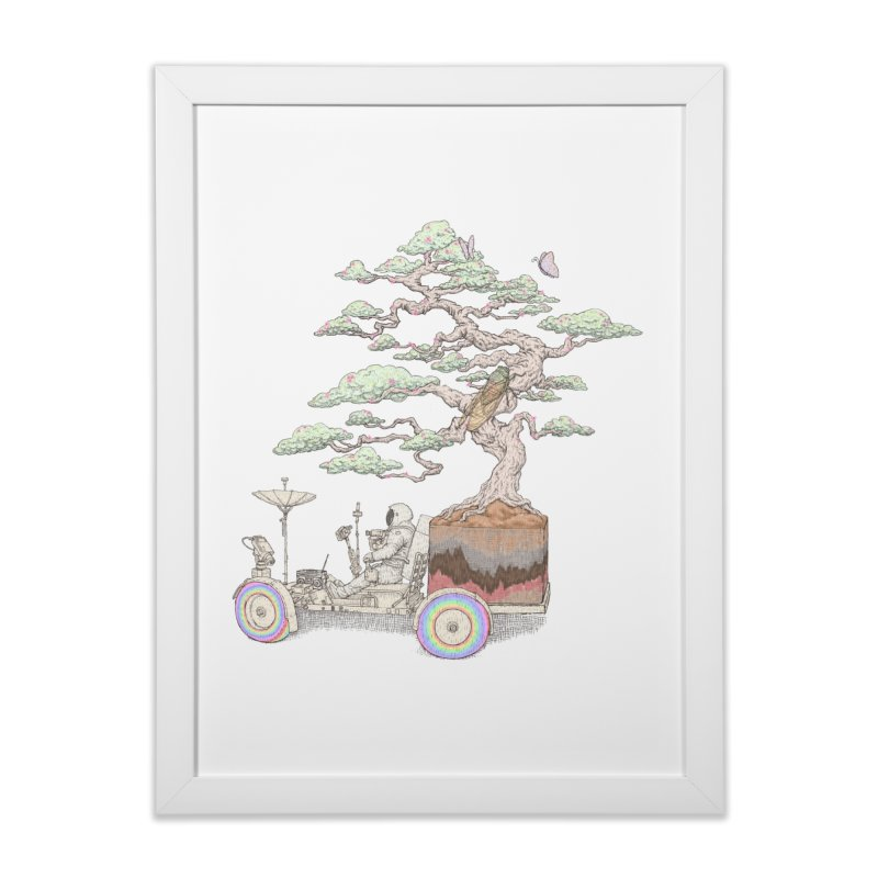chill on the road Home Framed Fine Art Print by makapa's Artist Shop