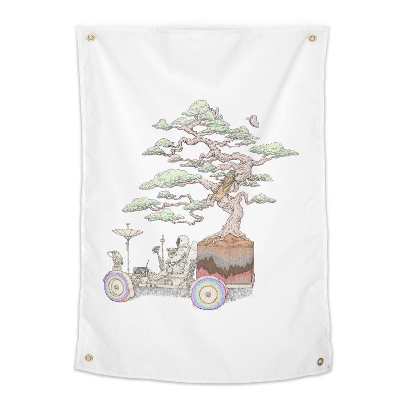 chill on the road Home Tapestry by makapa's Artist Shop