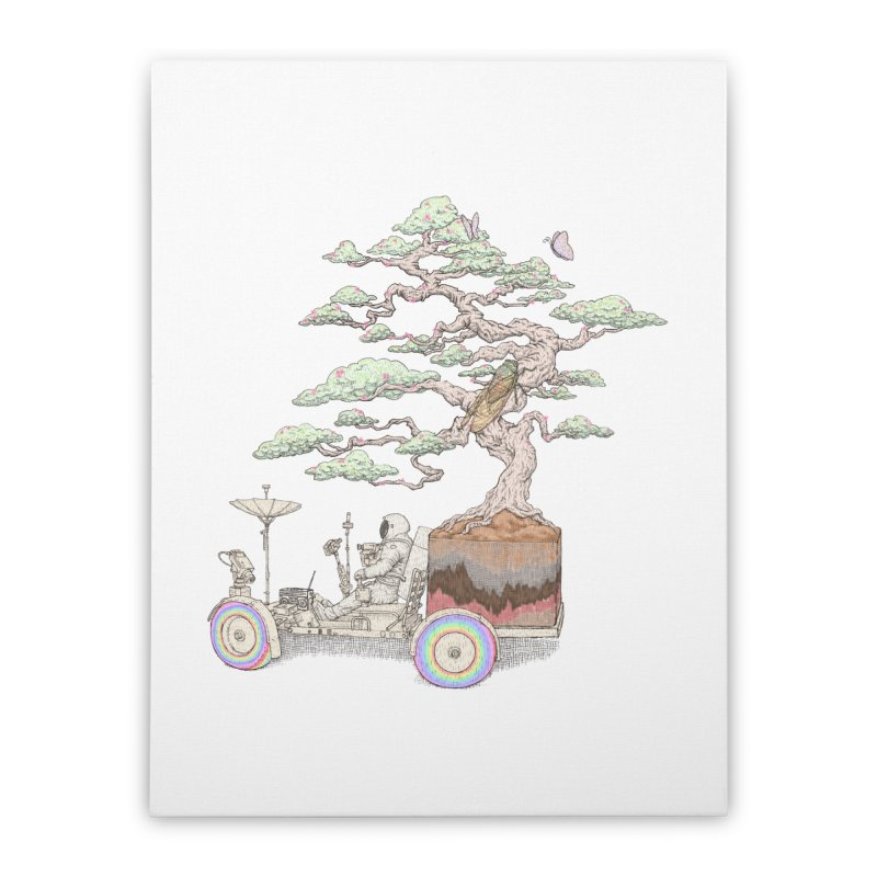 chill on the road Home Stretched Canvas by makapa's Artist Shop