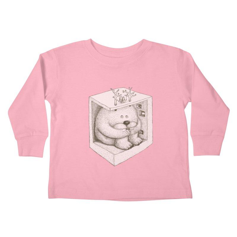 underground imagine Kids Toddler Longsleeve T-Shirt by makapa's Artist Shop
