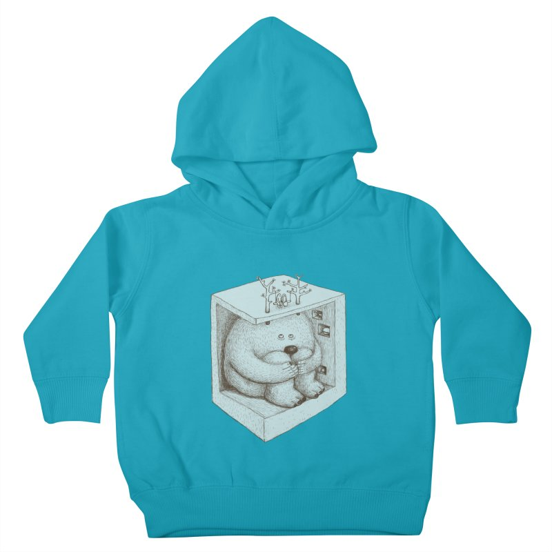 underground imagine Kids Toddler Pullover Hoody by makapa's Artist Shop