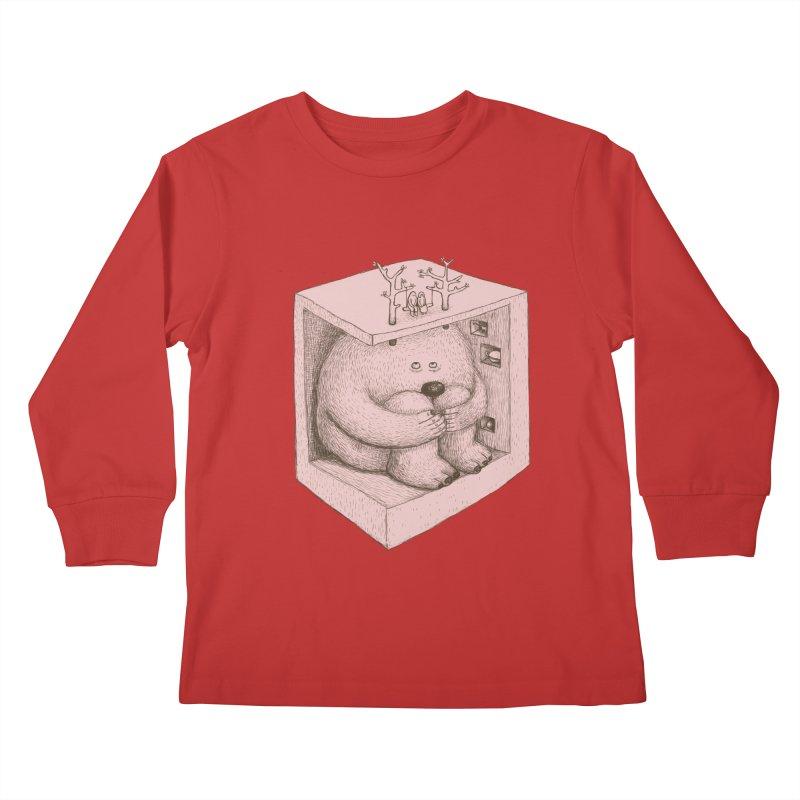 underground imagine Kids Longsleeve T-Shirt by makapa's Artist Shop