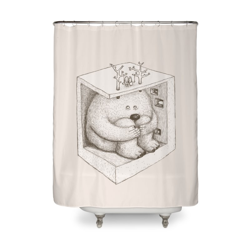 underground imagine Home Shower Curtain by makapa's Artist Shop