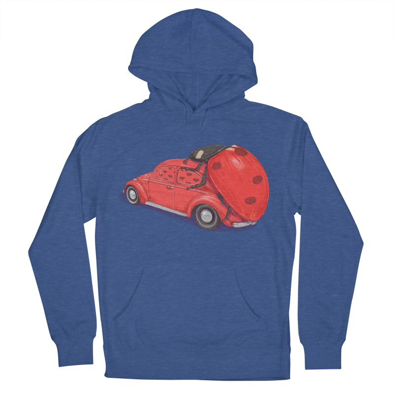 miniatures love Men's French Terry Pullover Hoody by makapa's Artist Shop