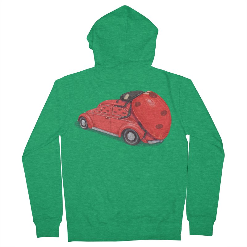 miniatures love Men's French Terry Zip-Up Hoody by makapa's Artist Shop