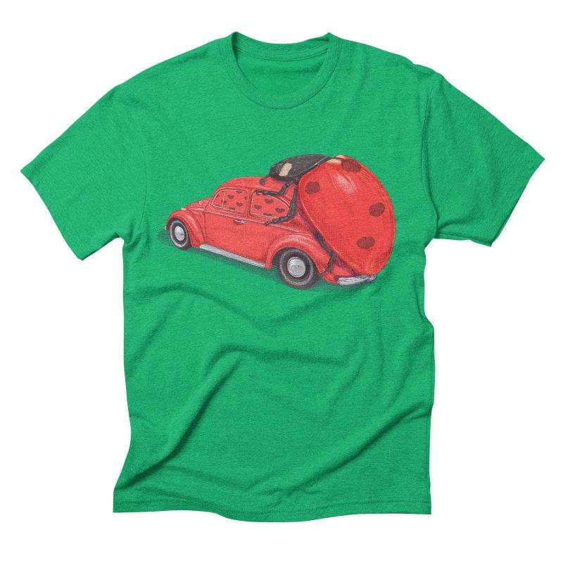 miniatures love Men's Triblend T-Shirt by makapa's Artist Shop