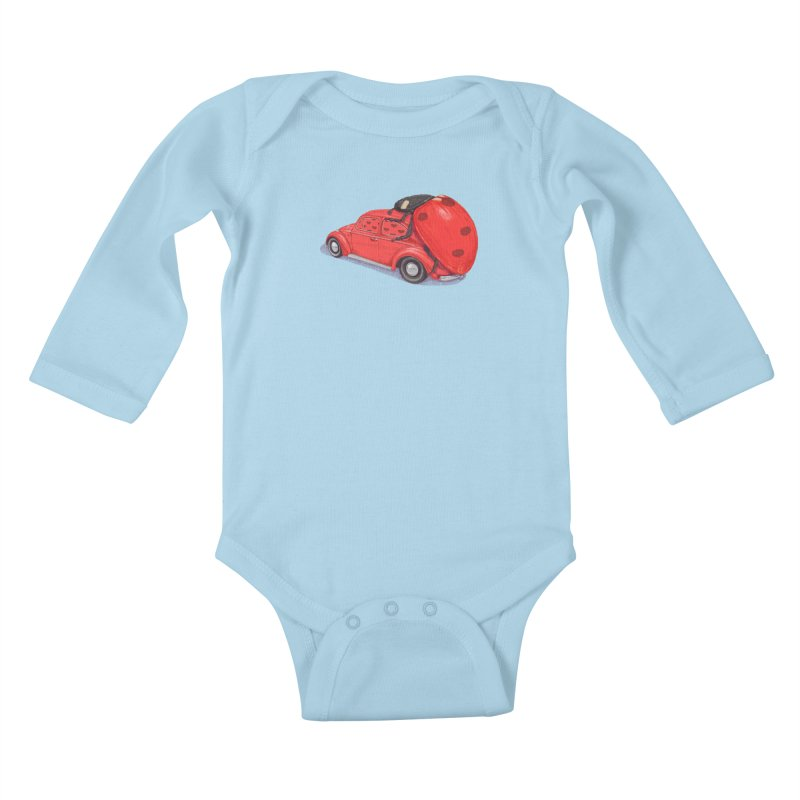 miniatures love Kids Baby Longsleeve Bodysuit by makapa's Artist Shop