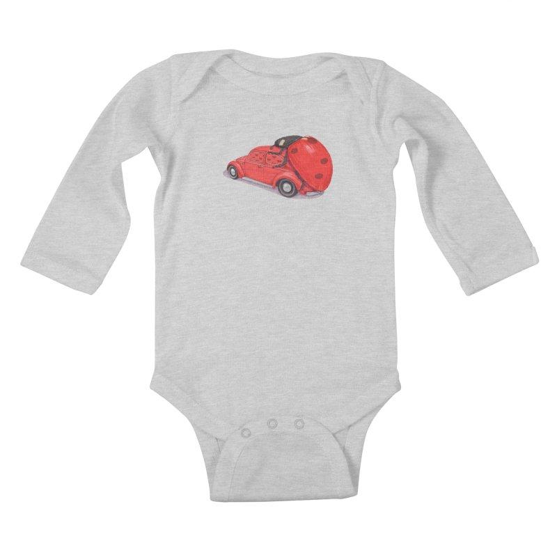 miniatures love Kids Baby Longsleeve Bodysuit by makapa's Artist Shop