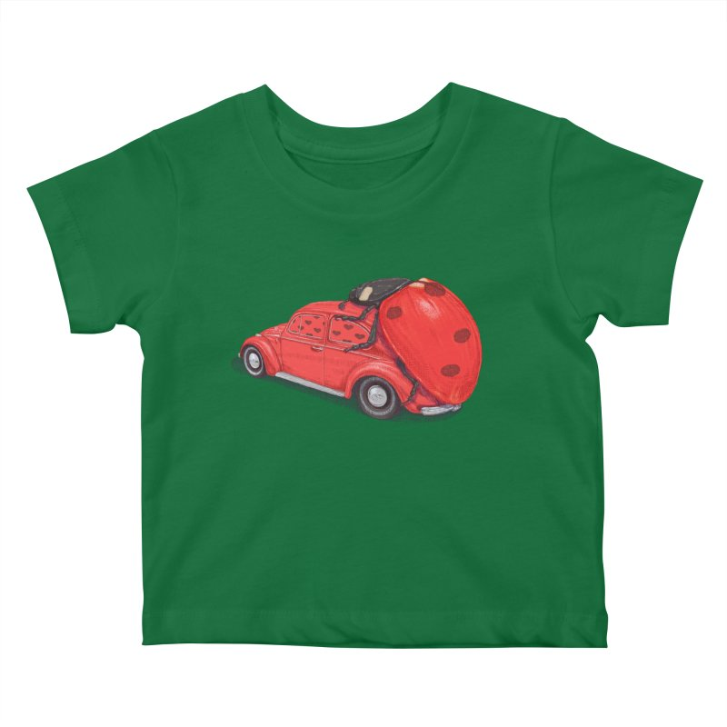 miniatures love Kids Baby T-Shirt by makapa's Artist Shop