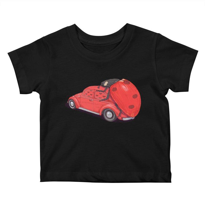 miniatures love Kids Baby T-Shirt by makapa's Artist Shop