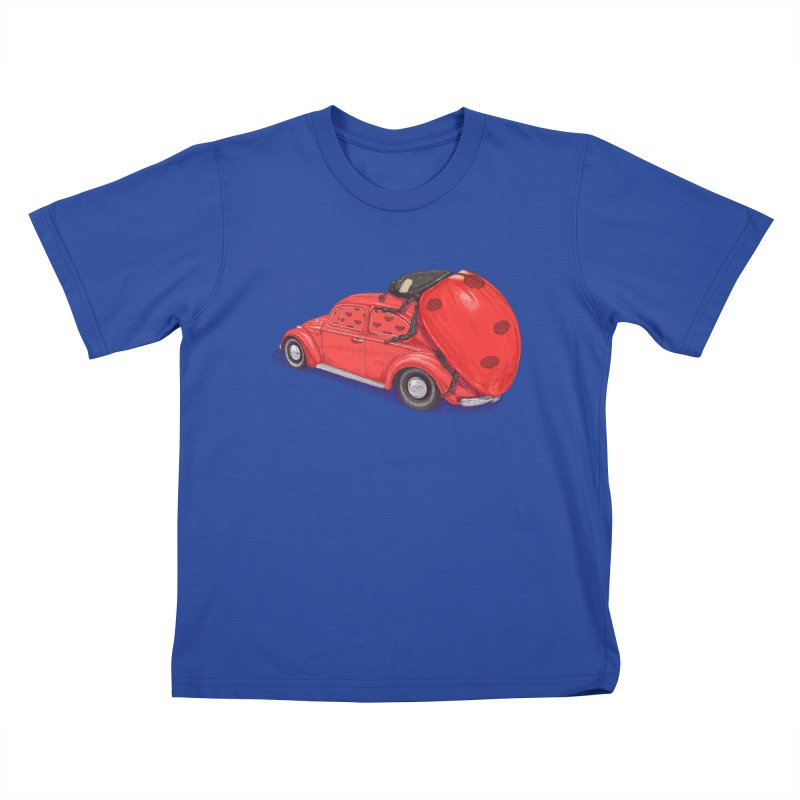 miniatures love Kids T-Shirt by makapa's Artist Shop