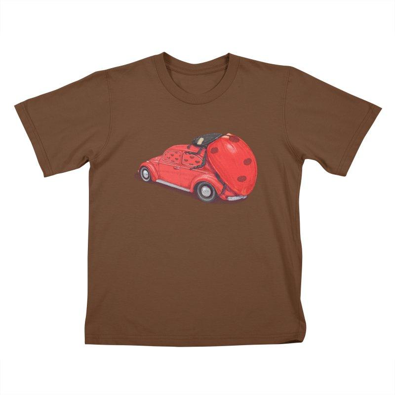 miniatures love Kids T-Shirt by makapa's Artist Shop