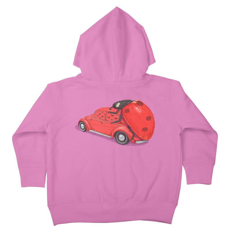 miniatures love Kids Toddler Zip-Up Hoody by makapa's Artist Shop