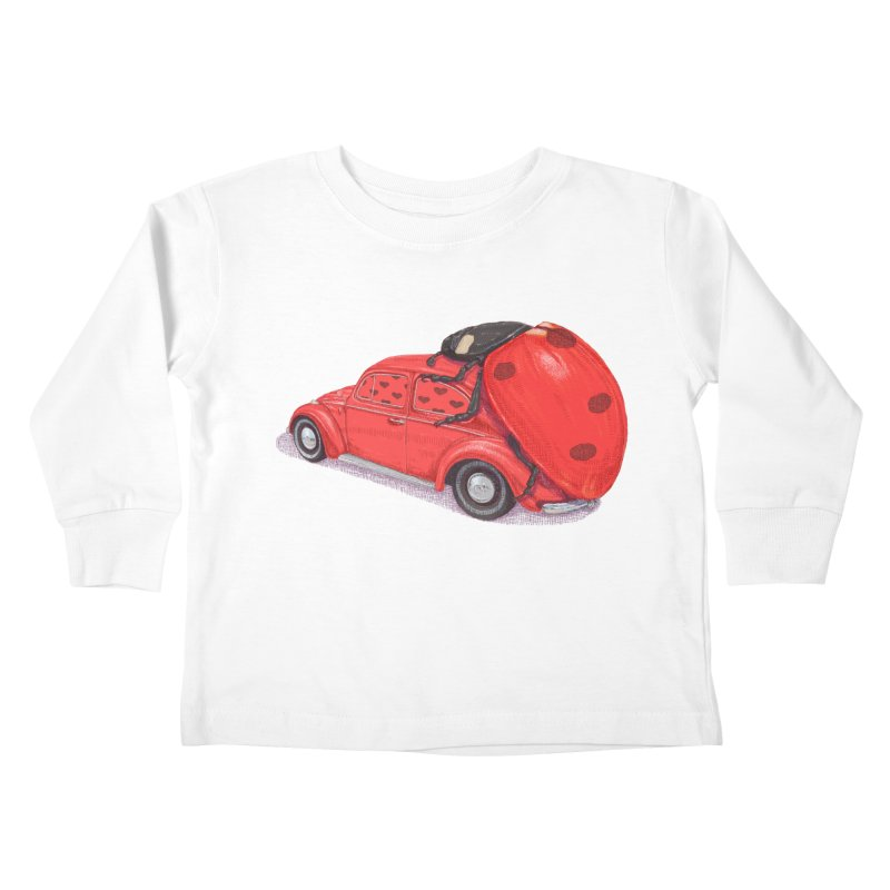 miniatures love Kids Toddler Longsleeve T-Shirt by makapa's Artist Shop